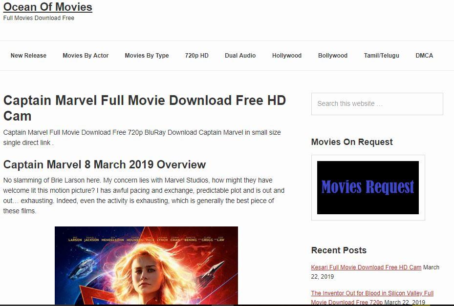 top 5 free hd movie sites