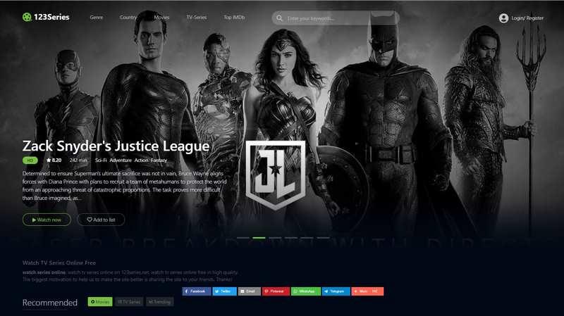 123Series | Free TV Series Online Streaming | 2021 Updated