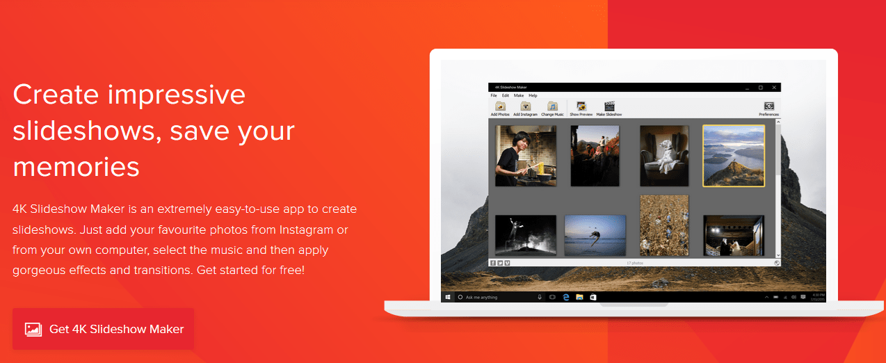 make Photo Slideshow 4k slishow maker