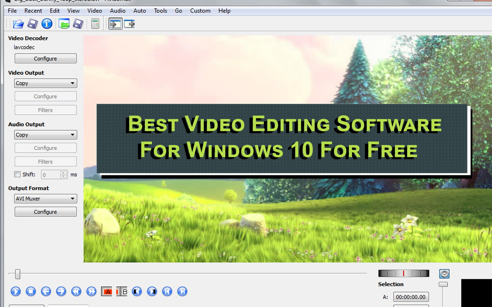 Best Video Editing Software For Windows 10 For Free