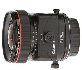 Canon TS-E 24mm f/3.5L II Tilt Shift