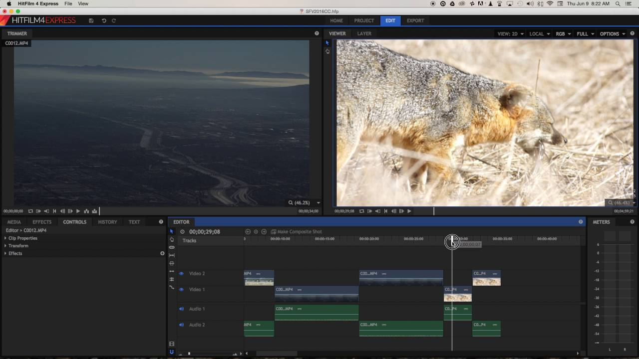 HitFilm Express - Best Video Editing Software For Windows 10 For Free