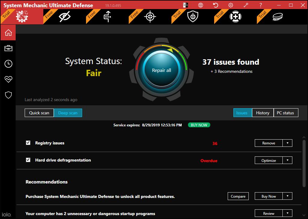 olo System Mechanic (Best PC Optimization Software)