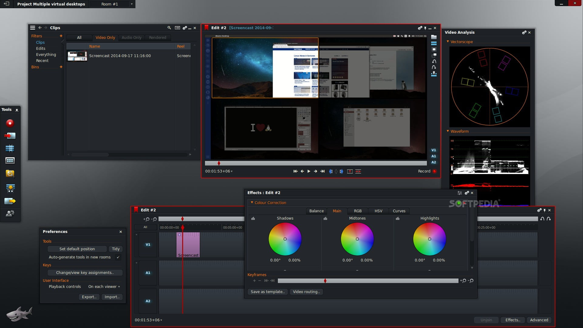 Lightworks - Best Video Editing Software For Windows 10 For Free