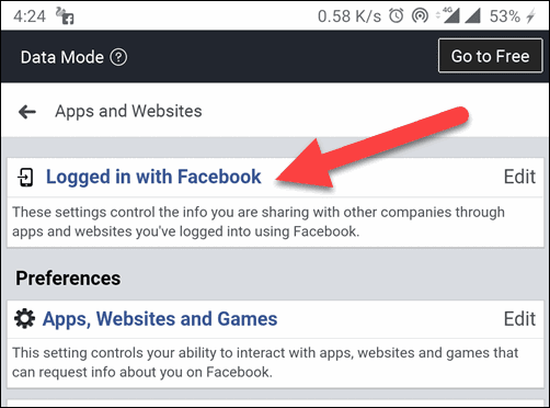 Logged-in-with-Facebook