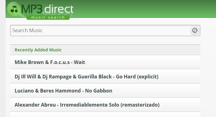 Mp3 Direct Music Download