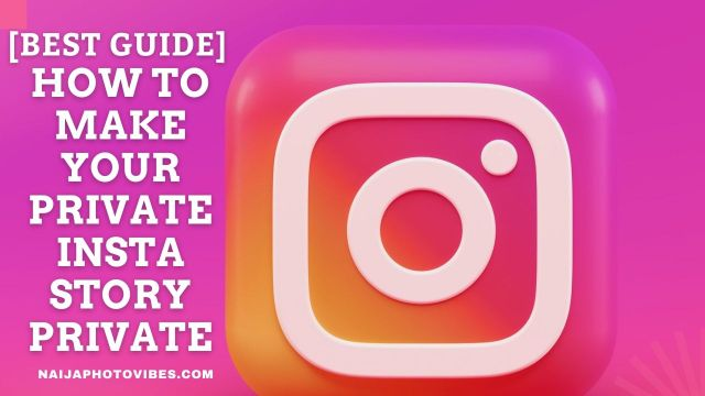 How to Make Your Private Insta Story Private | New 2021!