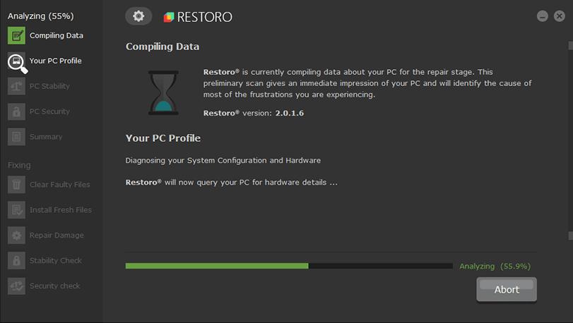 Restoro (Best PC Optimization Software)