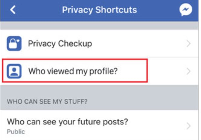 How can I see who viewed my Facebook profile?