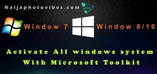 activate windows 10 using microsoft toolkit