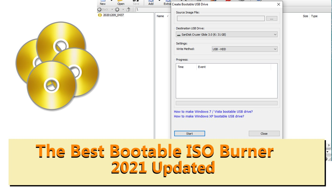 bootable ISO burner software