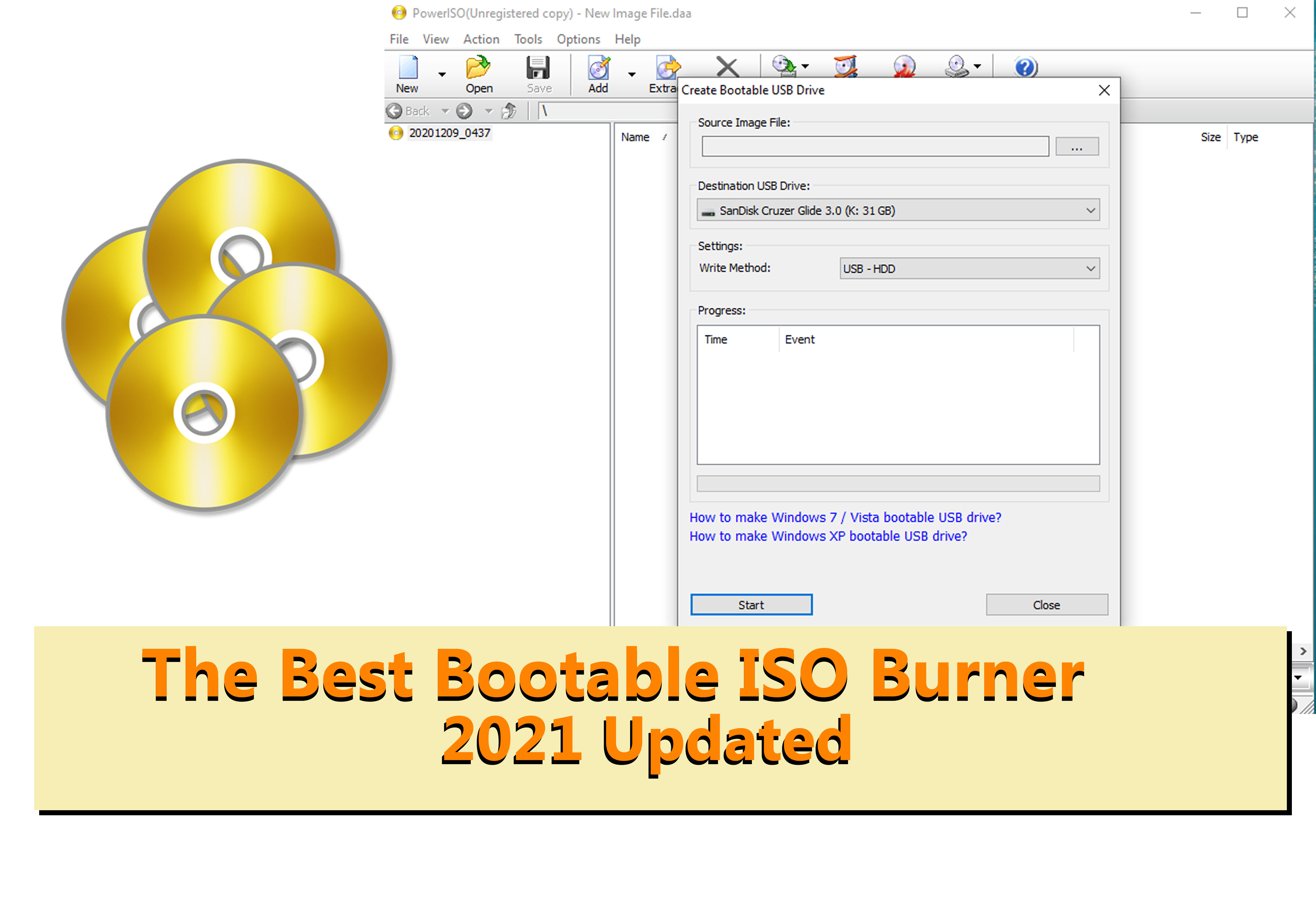 bootable ISO burner software