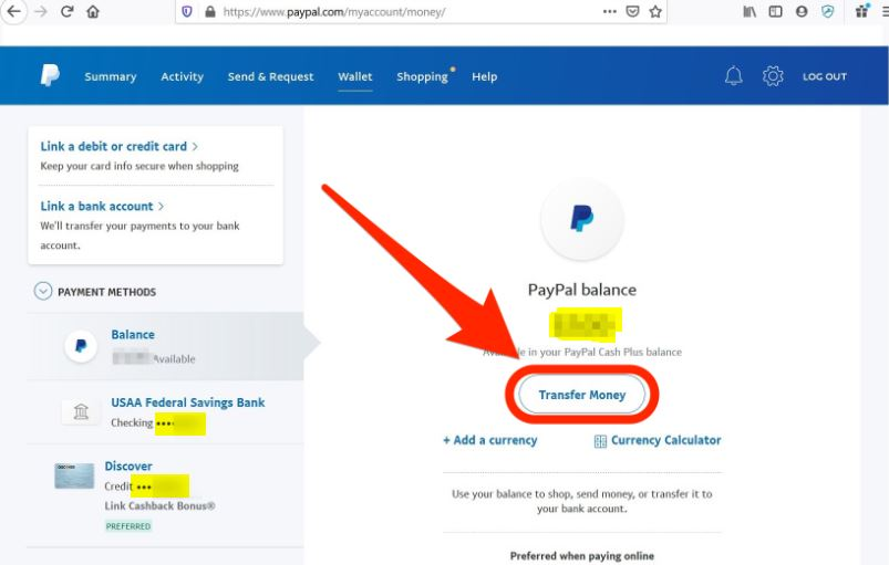 can i transfer money from paypal to my bank account