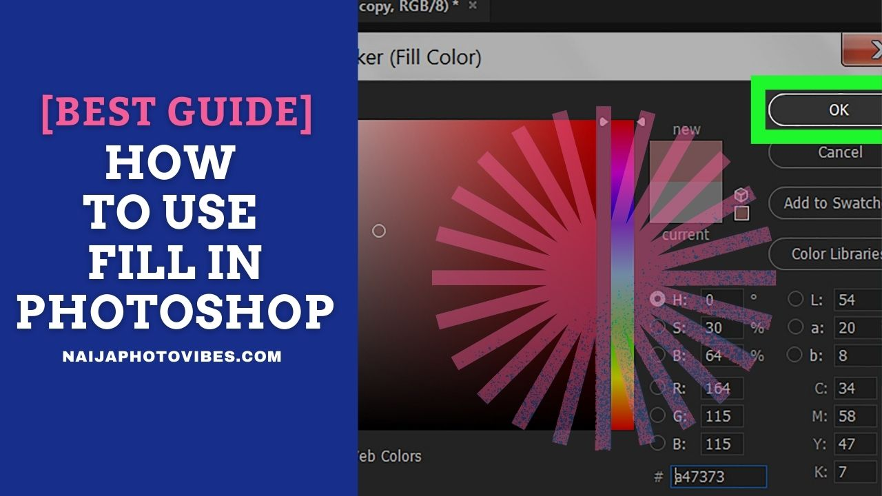 How to use Fill in Photoshop – Best Guides   New 2021!