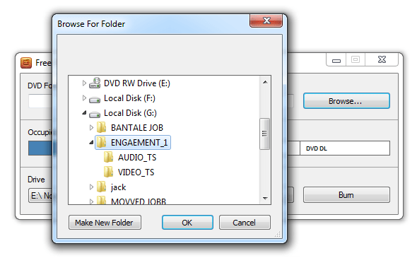 how to burn video to dvd, locate the video