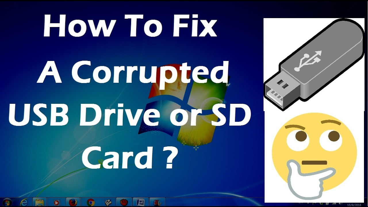 corrupted SD card