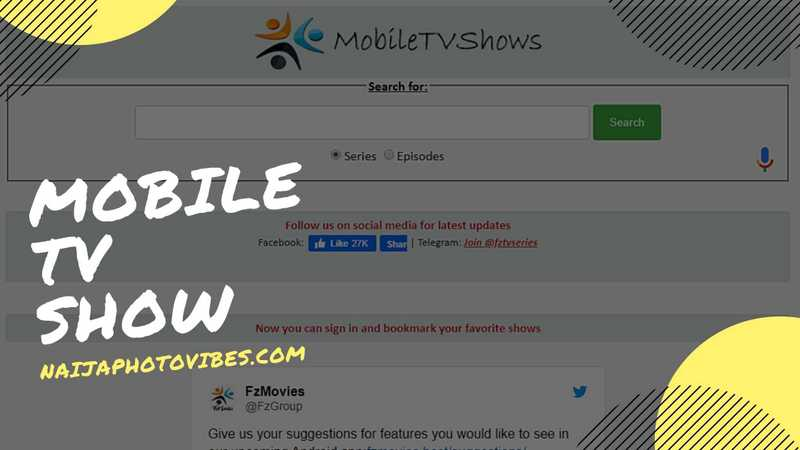 Mobile TV Show | Download Free 2021 Movies on Mobile TV.net
