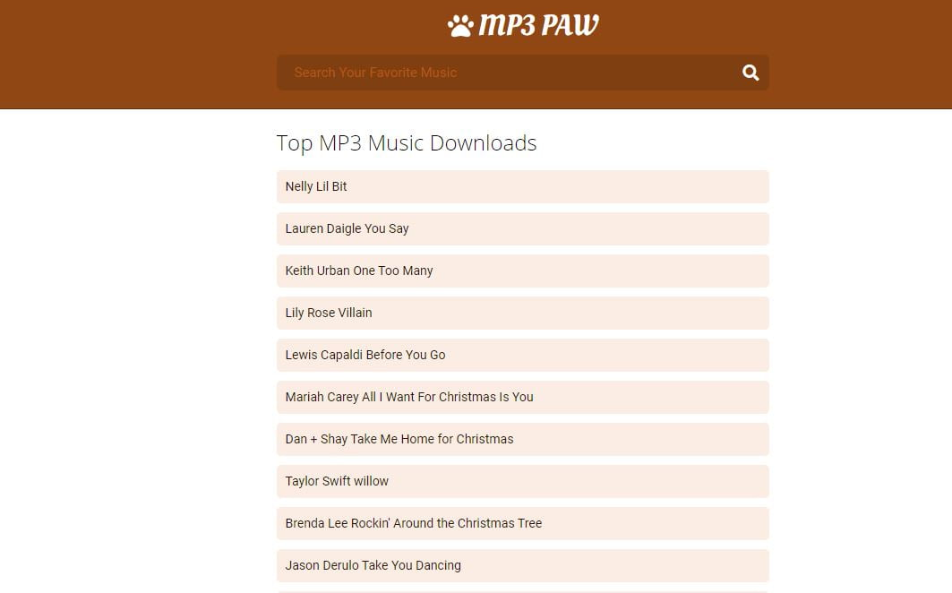 MP3 PAW – Download Free Mp3 Music in High Quality