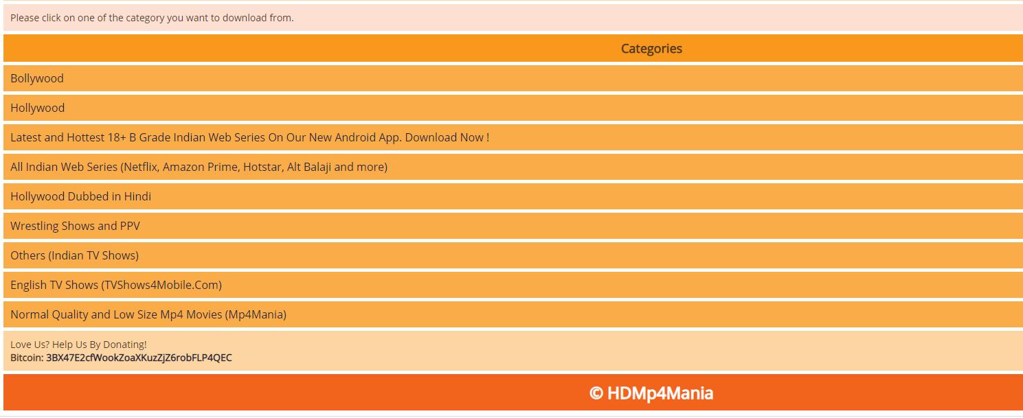 mp4mobilemovies categories