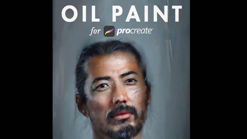 oil procreate-brushes