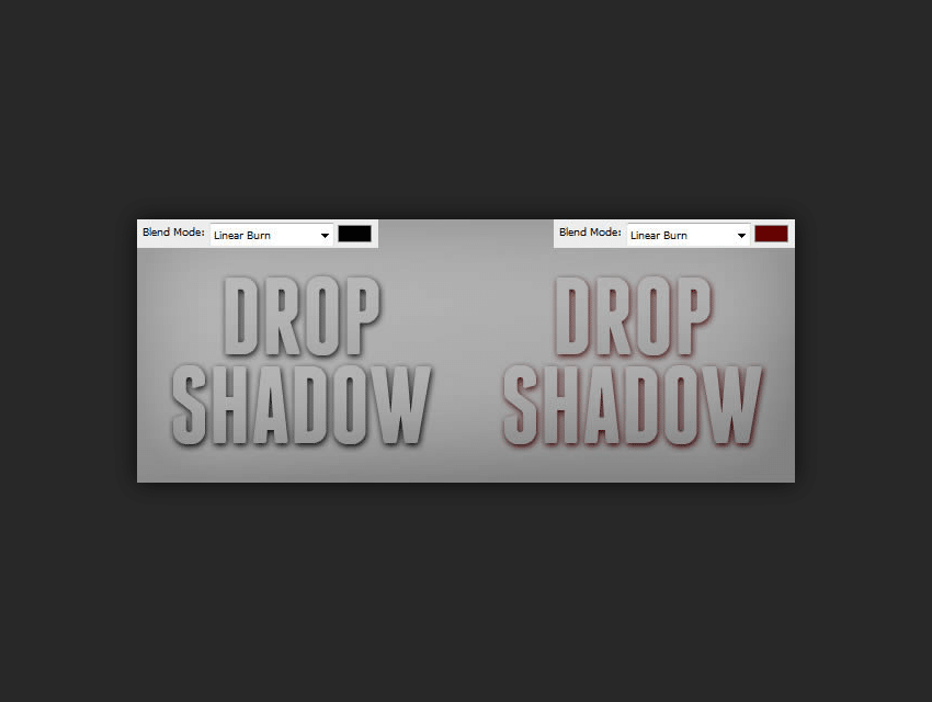 How to Add Photoshop Drop Shadow Effect