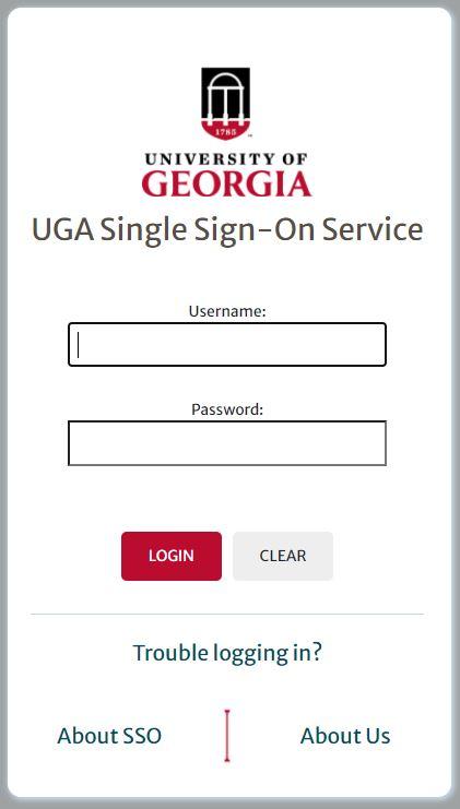 uga elc login page