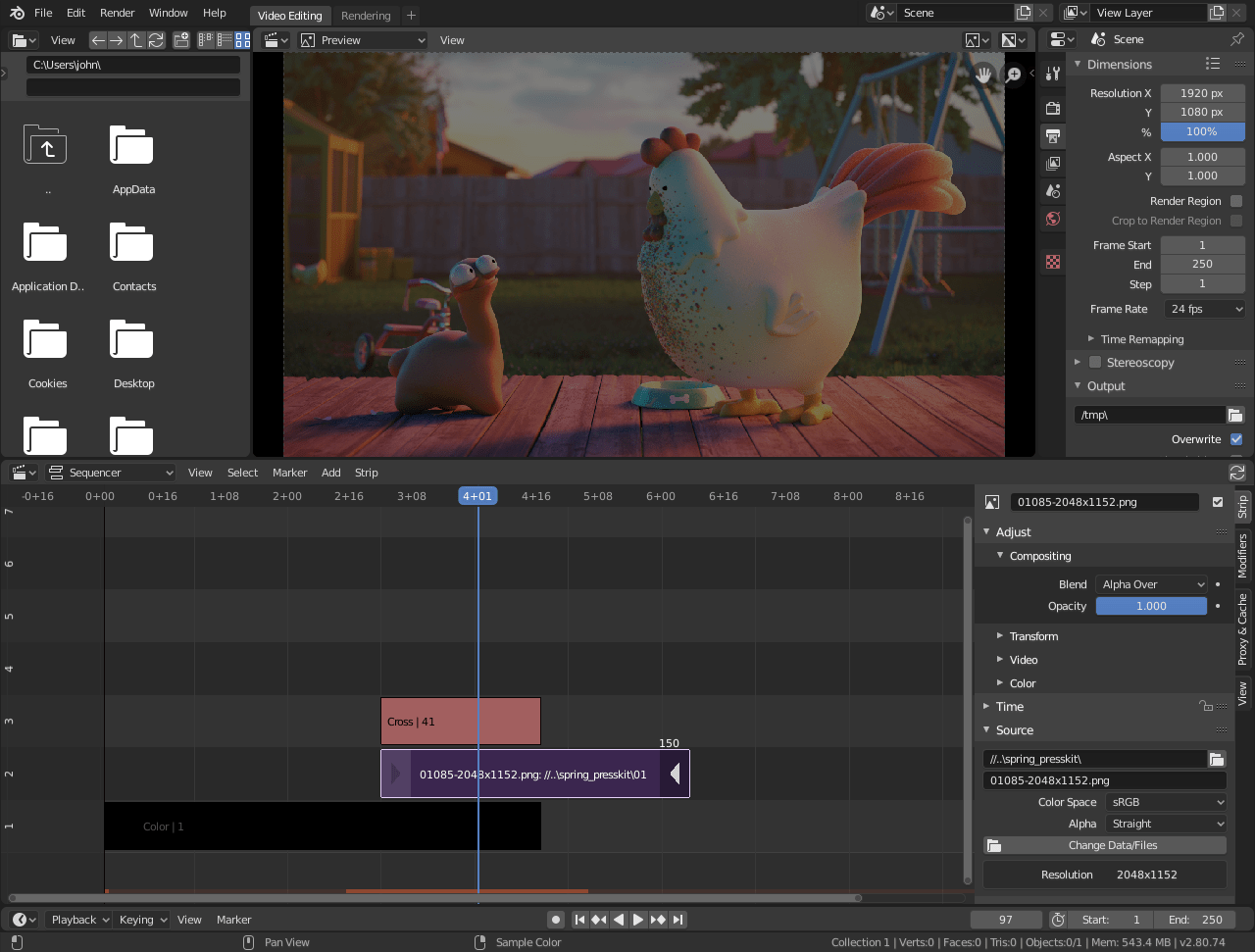 Best Video Editing Software For Windows 10 For Free - Blender