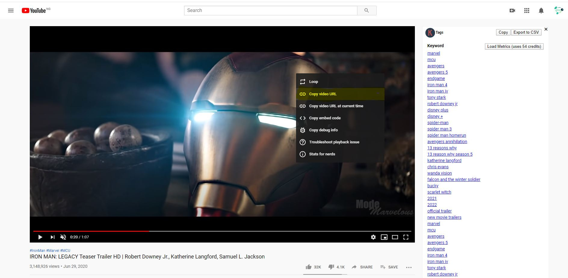 Download Youtube Videos To PC - Copy Video URL